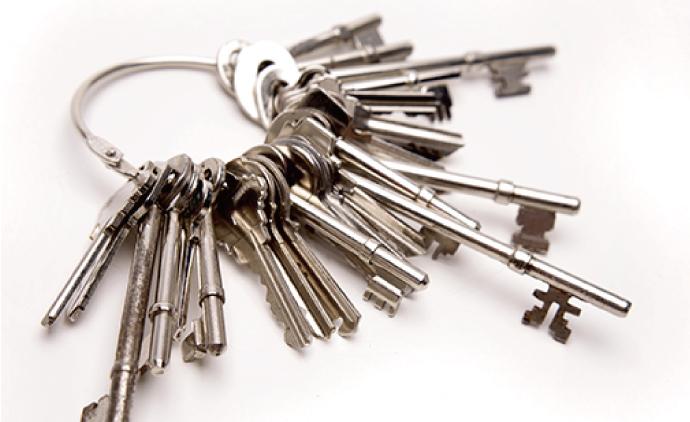 新しい住宅で採用数が多い「ディンプルシリンダー錠」