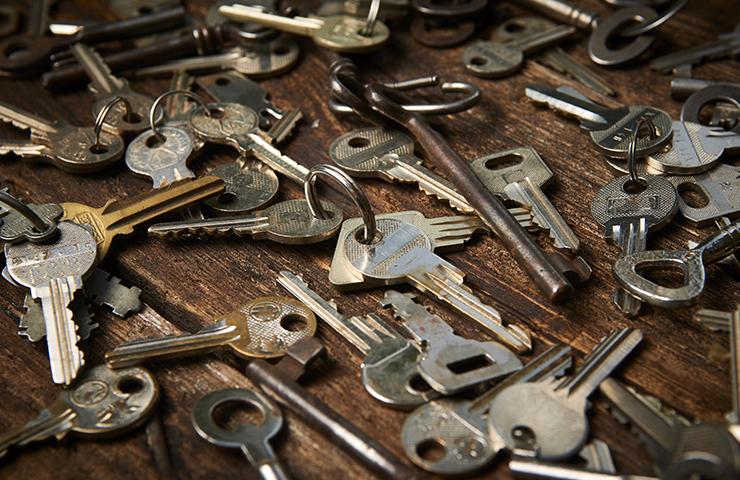 鍵を捨てる方法は2択