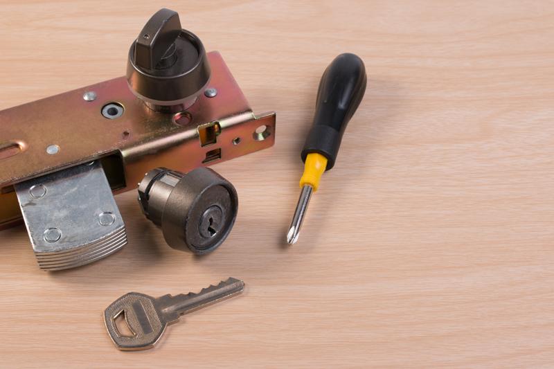 分解された鍵のイメージ